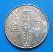 Grande Bretagne Great Britain 1 florin 2 shillings 1912 km 817 TOP QUALITE !