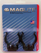 New Maglite D-Cell Mag-lite ASXD026 Mounting Bracket 2 PK Auto boat Airplane USA