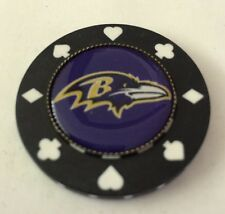 Poker chip card guard protector Poker Weight, NFL Baltimore Ravens  Poker Chip