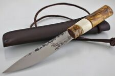 "Traditional ethnic Siberian tribes knife ""Yakut"" hand-forged"