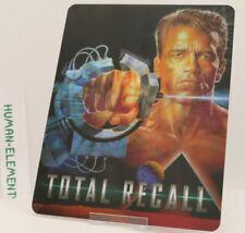 TOTAL RECALL schwarznegger - Lenticular 3D Flip Magnet Cover FOR steelbook