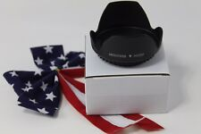 58mm Tulip Flower Lens Hood for Canon EF-S 55-250mm f/4-5.6 IS STM