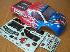 NEW Redcat Racing 1/10 Volcano EPX, EPX Pro, Nitro S30 Red White Blue Truck Body
