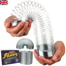 Kids Gift Magic 7cm Springy Slinky Metal Spring Childrens Kid Retro Game Toy Toy