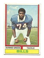 1974 Topps #27 Donnie Green Buffalo Bills