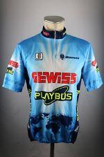 Ciertamente playbus Biemme bianchi radtrikot XL 6 54cm bike Cycling Jersey camisa f5