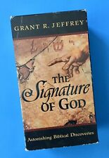 The Signature Of God VHS Tape Set Grant R Jeffrey Biblical Discoveries Christian