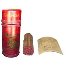 Antiques Chinese Fortune Sticks In Red sign Lottery Leather Case (FK-16R)