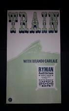 TRAIN & BRANDI CARLILE Ryman 2006 HATCH SHOW PRINT Nashville Tour Band Poster