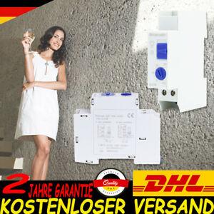 Treppenhausautomat Treppenlichtschalter Zeitschaltuhr Hutschiene 200-230V 2300W