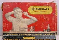 CHEMCRAFT NO. 2 CHEMISTRY SCIENCE PLAY SET BOXED 1930s GILBERT