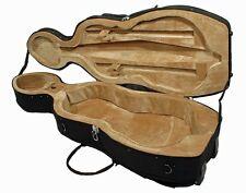 schwarzer Cellokoffer, Cello Case in den Grössen 1/8 bis 4/4