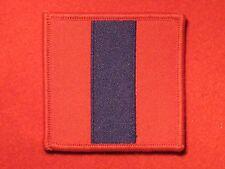 BRITISH ARMY WW2 ROYAL ARMY ORDNANCE CORPS RAOC CLOTH FORMATION BADGE