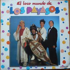 LOS PAYASOS DE LA TELE ( GABI, FOFO, MILIKI ... ) LP Spain 1982 El loco mundo de