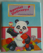 "Children's Personalized Book, ""Special Delivery"", Gift for Christening, Birthday"