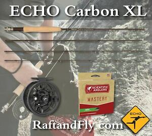 """Echo Carbon XL 4wt 9'0"""" Fly Rod - Rod only $169 