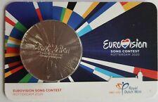 Nederland 2020 65 jaar Eurovisie Songfestival Penning in coincard