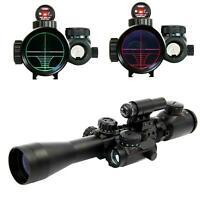 3-9X40 EG R&G Illuminated Gun Rifle Scope+Red Laser+Holographic Dot Sight