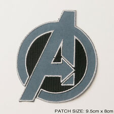 AVENGERS ASSEMBLE PATCH - New Style Marvel Movie Quality Iron-On Embroidered