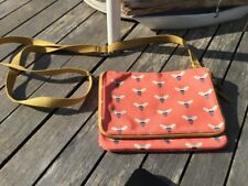 Fossil Bumble Bee Top Zip Crossbody Bag Absolutely Ex Cond And So Super Cute See