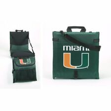 University of MIAMI HURRICANES NCAA Stadium Bleacher Seat Chair Cushion NEW