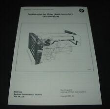 Seminar Schulungsunterlage BMW 5er 524 TD E 34 Fehlersuche Motor Überhitzung M21