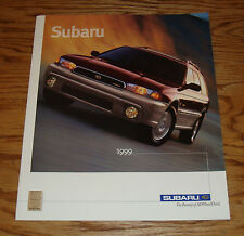 Original 1999 Subaru Full Line Sales Brochure 99 Outback Forester Impreza