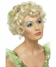 Blonde Fairy Wig Leaves Goddess Roman Greek Christmas Angel Eve Pixie Elf Helper