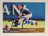 2016 Grandstand Tucker Tubbs Autograph Card Red Sox Lowell Spinners, Auto