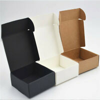 2X(100Pcs Kraft Paper Box Nice Kraft Box Packaging Box Small Size G5A1)