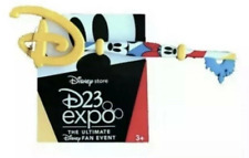 New 2019 Disney D23 Expo Disney Store Exclusive Mickey and Minnie Key