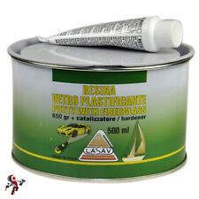 Stucco vetroresina Stucco in pasta per vetroresina con catalizzatore 500 ml