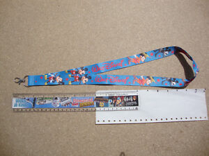 Lanyard Mickey Mouse neck strap for ID security card USB stick keys keyring etc