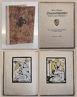 Steinecke Himmelschlüssel Erlebnis eines Engelchens 1922 kolorierte Holzschnitte