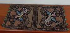 Antique Chinese Embroidery Rank Badge