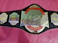 NWA Central States Tag Team Heavyweight Wrestling Replica Championship Belt 4MM