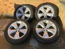 Subaru Forester/Outback winter tyres (virtually new) on unmarked alloy wheels X4
