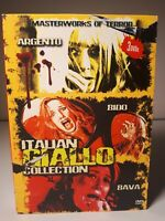 ITALIAN GIALLO Collection DVD 3 discs. LIKE NEW, 2 of 3 discs sealed.