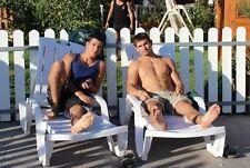 Shirtless Male Beefcake Frat Boys Jocks Pool Time Bare Feet PHOTO Pic 4X6 C389