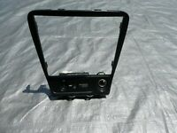 1999-2005 Mazda Miata Radio Trim Bezel With Air Bag Switch And Lighter OEM Used