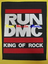 TOPPA patch RUN DMC King of rock 37x32 cm cd dvd lp mc vhs live promo