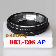 AF DKL-EOS Adapter for Voigtlander Retina DKL Lens to Canon EOS EF Mount DKL-EOS