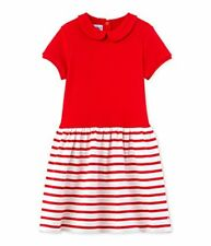 Petit Bateau Favelo Robe fille Rouge (peps/lait) 5 ans (taille Fabricant ...