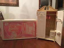 New listing Suzy Goose Wardrobe Vintage Barbie Midge 1963 Original Box And Hangers