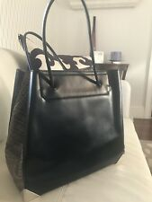 Authentic Alexander Wang Prisma Croc-Embossed Calfskin Large Tote Bag