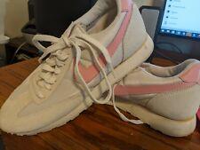 Vintage 1986 Nike Echelon Gray White Pink Shoes Women's Size 9 sneakers