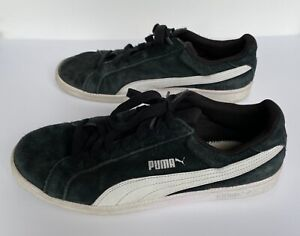 PUMA Suede Classic Sneakers Size Men's 12 black collectible
