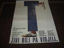 Zivi Bili pa Vidjeli (Cookie Crumbles) (Cinema Poster) (27 x 19)