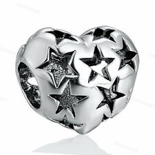NEW 925 Sterling Silver Charms Bead For European Bracelet Chain Necklace CA1