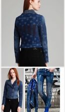 Nwt Guess Festival Capsule Jacket Exclusive Americana Moto Denim size S